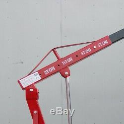 Folding 2 Ton Tonne Hydraulic Workshop Engine Crane Stand Hoist Lift Jack UK Hot
