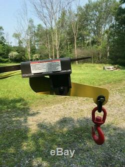 Forklift fork lifting Hoisting Hook Single Auto Tension 3 ton
