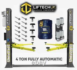 Fully Automatic 2 Post Lift Car Vehicle Ramp/hoist 4 Ton Tonne
