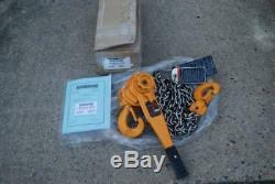 HARRINGTON L5LB030-15-SYH COME-A-LONG 3 TON With15FT. CHAIN NEW