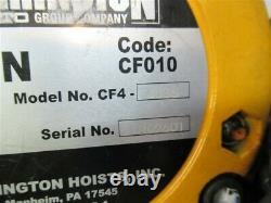 Harrington CF010-30, 1 Ton Chain Hoist, 30' Lift