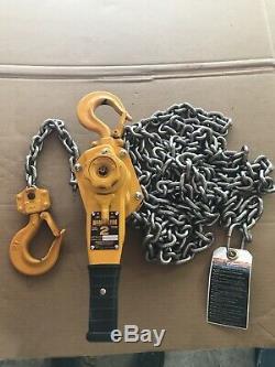 Harrington LB020 Lever Hoist 2 ton puller lever chain hoist NEW never Used