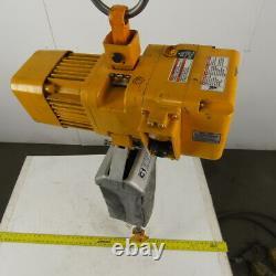 Harrington NER003S Electric Chain Hoist 1/4 Ton 28' Lift 32FPM 208-230/460V 3Ph