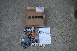 Harrington Pal003-5 Lever Hoist 1/4 Ton 5' Lift 3/8 Proto Ratchet Drive New
