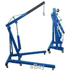 Heavy Duty 1 Ton Professional Folding Engine Crane Hoist Lift Steel Lifting Tool