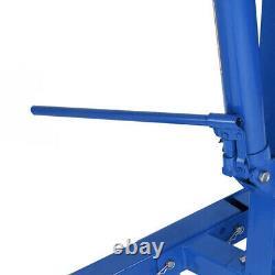 Heavy Duty 2 Ton Folding Engine Crane Stand Hoist Lift Jack Workshop Hydraulic