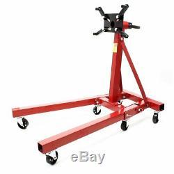 Heavy Duty 2 Ton Hydraulic Folding Engine Crane Stand Hoist Lifting Hydraulic 2T