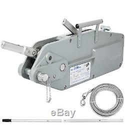 Heavy Duty 3.2 Ton 20m Lever Block Chain Hoist Load Lifting Puller Pulley