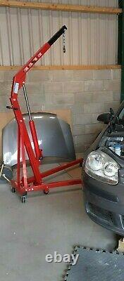Hilka 1 ton folding hydraulic engine crane machinery lift hoist part no 82951000