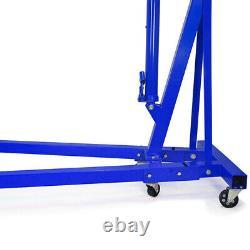 Hydraulic Engine 1 Ton Tonne Crane Hoist Foldable Workshop Garage Stand Lifter