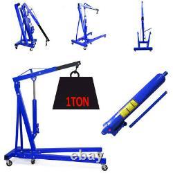Hydraulic Hoist Stand 1 Ton Tonne Folding Engine Crane Hoist Lift Lifting Units