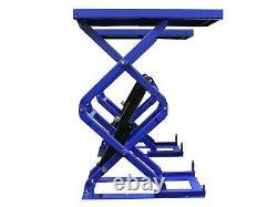 In Floor / Flush Fit, 2 Platform, Scissor Car Lift/vehicle Lift/ Hoist 3 Ton 3000