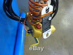 Ingersoll-Rand 1/8 TON Quantum Electric Hoist QCH50-1ND12H12-6-3CHY 230V (12199)