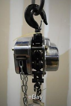 Ingersoll Rand Manual Chain Hoist-2-Ton Capacity 15 ft Lift #SMB020-15-13V