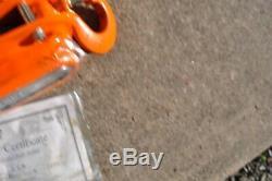 Ingersoll Rand ROUGHNECK L5H300-15 Lever Chain Hoist 1-1/2 Ton New