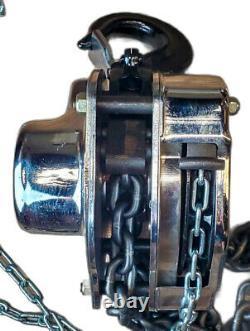 Ingersoll Rand Silver Manual Chain Hoist 3 Ton Capacity 10ft Lift SMB030-10-8V