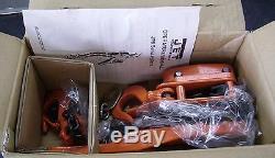 JET 205675 JPN-75-5, 3/4 Ton, 5' Lift Ratchet Lever Hoist NEW
