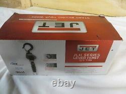 JET JLH-Series 1/2-Ton Lever Hoist with 10' Lift & Overload Pro. JLH-050-10