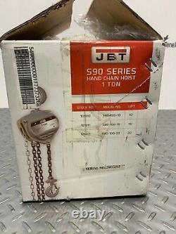 JET S90 Manual Chain Hoist with 20 Ft. Lift 1 Ton Capacity Model #S90-100-20 P13