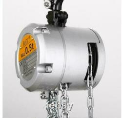 KACC Mini Hand Chain Hoist Hook Mount 0.25/0.5 Ton