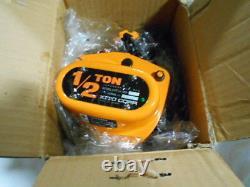 KITO Mighty M3-473 1/2-Ton Manual Chain Hoist 2.5M (8.2FT) Lift NEW IN BOX