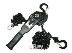 Lever Hoist 3 Ton with 3 Metre Ratchet Lifting Height 3T 3000KG 3M