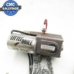 Little Mule 1/2 Ton Electric Hoist LMES-1006-10 New No Box