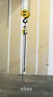 MADE IN USA Budgit USA Hand Chain Hoist 1-TON, 10' LIFT MADE IN USA