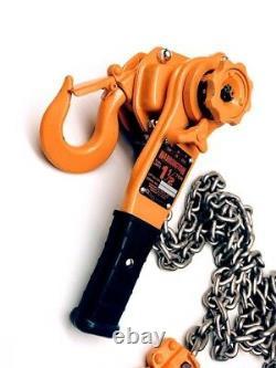 NEW 1-1/2 Ton Harrington LB Series 3000lb Lever Chain Hoist LB015
