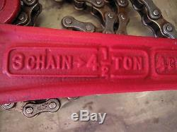 NEW COFFING G Series 05117W COME ALONG WINCH CHAIN HOIST Lever 4-1/2 TON 6 Ton