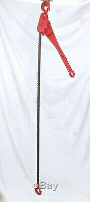 New COFFING Ratcheting Chain Hoist, 3/4 Ton 1-Chain Or 1-1/2 Ton 2-Chain