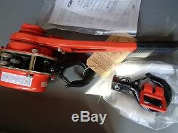 New Columbus Mckinnon 5325 Series 653 Manual 1-1/2 Ton Lever Hoist /no Chain