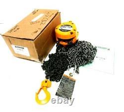 New Harrington Cf005-15 Chain Hoist 1/2 Ton 15' Cf4-0287 Cf00515