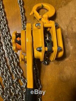 New Harrington Lever Hoist L5LB010-10 10ft Lift 1 Ton