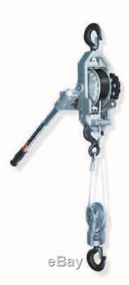 New Little Mule 404WNB Cable Puller 2 Ton 8 ft lift Winch Hoist