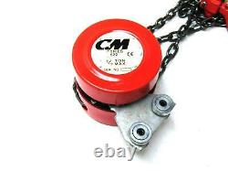 New Open Box CM Series 622 1/2 Ton Chain Hand Hoist