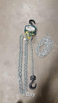 OZ Lifting Chain Hoist Brand New 2 Ton 15 ft Lift Chain Fall hoist