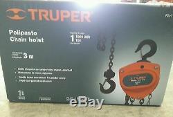 POL-1 Chain hoist TRUPER load capacity 1 Ton