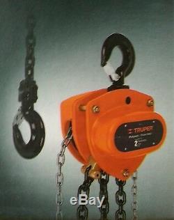 POL-2 Chain hoist TRUPER load capacity 2 ton