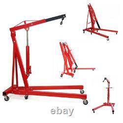 Pro Lift Engine Crane Hoist Pulley Trolley For Workshop Warehouse Machines 2 Ton