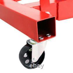 Professional 2 Ton 2000KG Hydraulic Folding Engine Crane Hoist Lift Jack Wheels