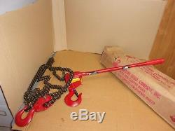 Ratcliff Hoist Company Inc. Manually Lever Operated Chain Hoist 9082W, 3 ton