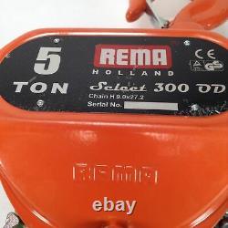 Rema S-300/5000 kettenzug Chain hoist select 300 OD 5 TON NEW NFP