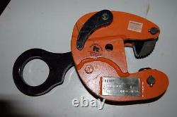 Renfroe Model J 1/2 Ton Vertical Lifting Clamp 1 1/4 To 1 3/4 NEW