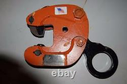 Renfroe Model J 1 Ton Vertical Lifting Clamp 1 1/2 To 2 NEW