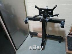 SGS 2 Ton Professional Engine Crane Lift/Hoist plus Engine Stand and Leveller