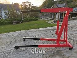 Sealey PH30 Engine Crane Hoist 3 Ton Red