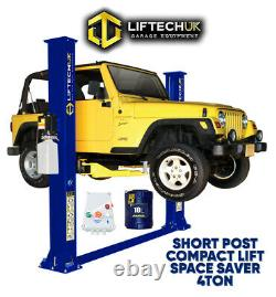 Short/ Narrow 2 Post Lift Car Vehicle Lift/ramp Hoist 4000kg 4ton Tonne Two Post
