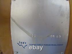 Tfi 2 HP Air Hoist Jqh10x48, 1 Ton, #4211206j New