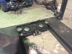 Used 3.6 Ton Car Hoist Lift 4 Post W SLIDE JACK RRP NEW $4500 Remis Chop Shop